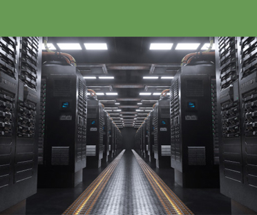 Back-End Servers in an IT room